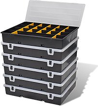 Festnight Tool Storage Organiser Case 21 Dividers