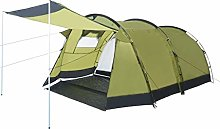 Festnight Tunnel Camping Tent 4 Person,