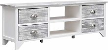 Festnight TV Cabinet   TV Unit Stand with 4