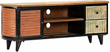 Festnight TV Cabinet with 2 Drawers - Fully