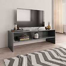 Festnight TV Cabinet with Open Compartment,