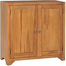 Festnight Wood Storage Cabinet with 2 Drawers, Bed