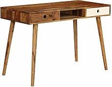 Festnight Wooden Writing Desk Console Desk| Retro