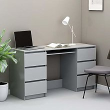 Festnight Writing Desk Study Desk Computer Table