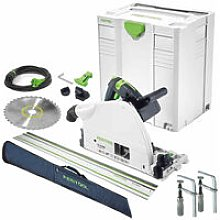 Festool TS75 110V Plunge Saw 561439 with Guide