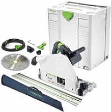 Festool TS75 240V Plunge Saw 561441 with Guide