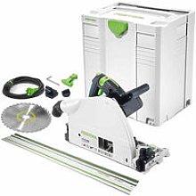 Festool TS75EBQ-Plus-FS 240V 210mm Plunge Saw &