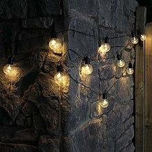 Festoon Bulb String Light, 10LED 2M Globe Light