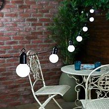Festoon Bulb String Light, 20LED 19.7ft Globe