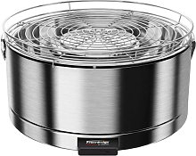 Feuerdesign Mayon Table Grill - stainless steel