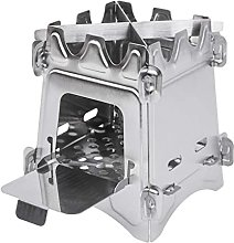Feunet Stainless Steel Firewood Stove, Portable