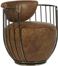 Fey Swivel Tub Chair Williston Forge Upholstery