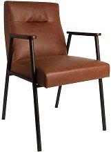 Fez Vintage Brown Armchair