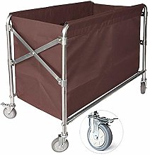 FF Folding Commercial Laundry Linen Cart with