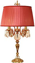 ffshop table lamp All Copper Crystal Table Lamp