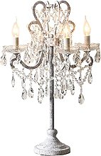 ffshop table lamp Crystal Table Lamp 4 Heads