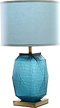 ffshop table lamp Modern Table Lamp Blue Glass