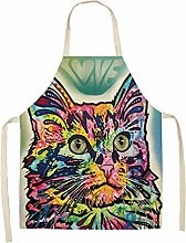 FFto Dog Apron Kitchen Aprons Cotton Linen Home