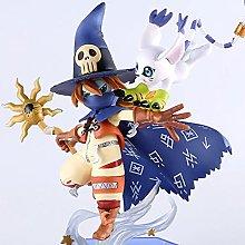 FFXZL Digimon Dilumon Wizard Beast Anime Figure