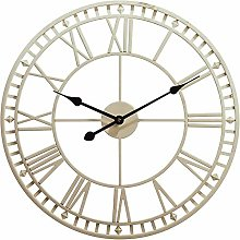 FFYN Outdoor Garden Wall Clock Large Weatherproof