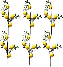 FGASAD 6Pcs Artificial Fruit Branches,Artificial
