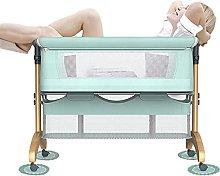 FGDSA Baby Bedside Cots,Crib Side Bed for Newborn
