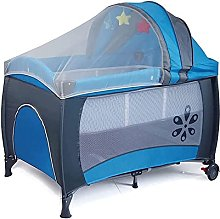 FGDSA Baby Crib Travel Bed, Travel Baby Bed with