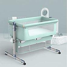 FGDSA Bedside Baby Crib,Co-Sleeping Baby Cot with