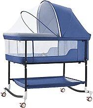 FGDSA Bedside Crib,Bedside Sleeper Portable Baby