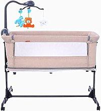 FGDSA Compact Portable Bedside Crib with