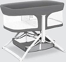 FGDSA Mobile Bedside Crib, Bed Travel Baby Cot