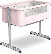 FGDSA Movable Compact Bedside Crib, Height