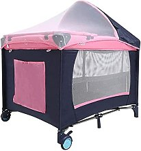 FGDSA Portable Folding Travel Cot, Cot Bed with