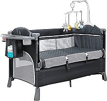 FGDSA Travel Cot Toddler Bed, Travel Cot with