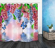 FGHJK Colorful butterfly flower Furniture