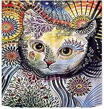 FGHJK Colorful cat Furniture decoration shower