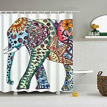 FGHJK Colorful elephant Furniture decoration