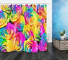 FGHJK Colorful flowers roses Furniture decoration