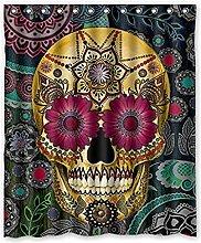 FGHJK Colorful skull Furniture decoration shower