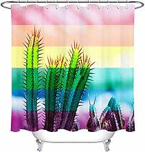 FGHJK Colorful striped cactus Furniture decoration