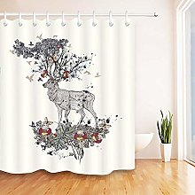 FGHJK Creative Deer Birds Furniture decoration