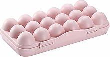 FGRYB Egg Holder for Refrigerator, 18 Grids