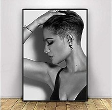 FGVB Halsey Poster Rapper Music Singer Smoking