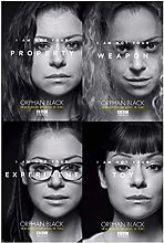 FGVB Hot Movie Tv Shows-Orphan Black Poster And