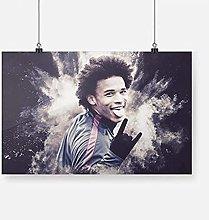 FGVB Leroy Sane Posters And Prints Wall Art Print