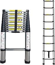 FGVBC Telescoping Ladder 2M/5M, Portable Aluminum