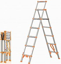 FGVBC Telescoping Ladder A-Frame Aluminum