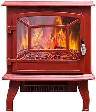 Fhdisfnsk Electric Fire Stove Heater Fireplace