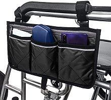 Fhdisfnsk Multifunctional Wheelchair Pouch Bag,
