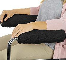 Fhdisfnsk Wheelchair Armrest Pads, 1Pair
